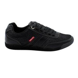LEVI'S | Tustin Black Denim Sneakers - Mens 10.5